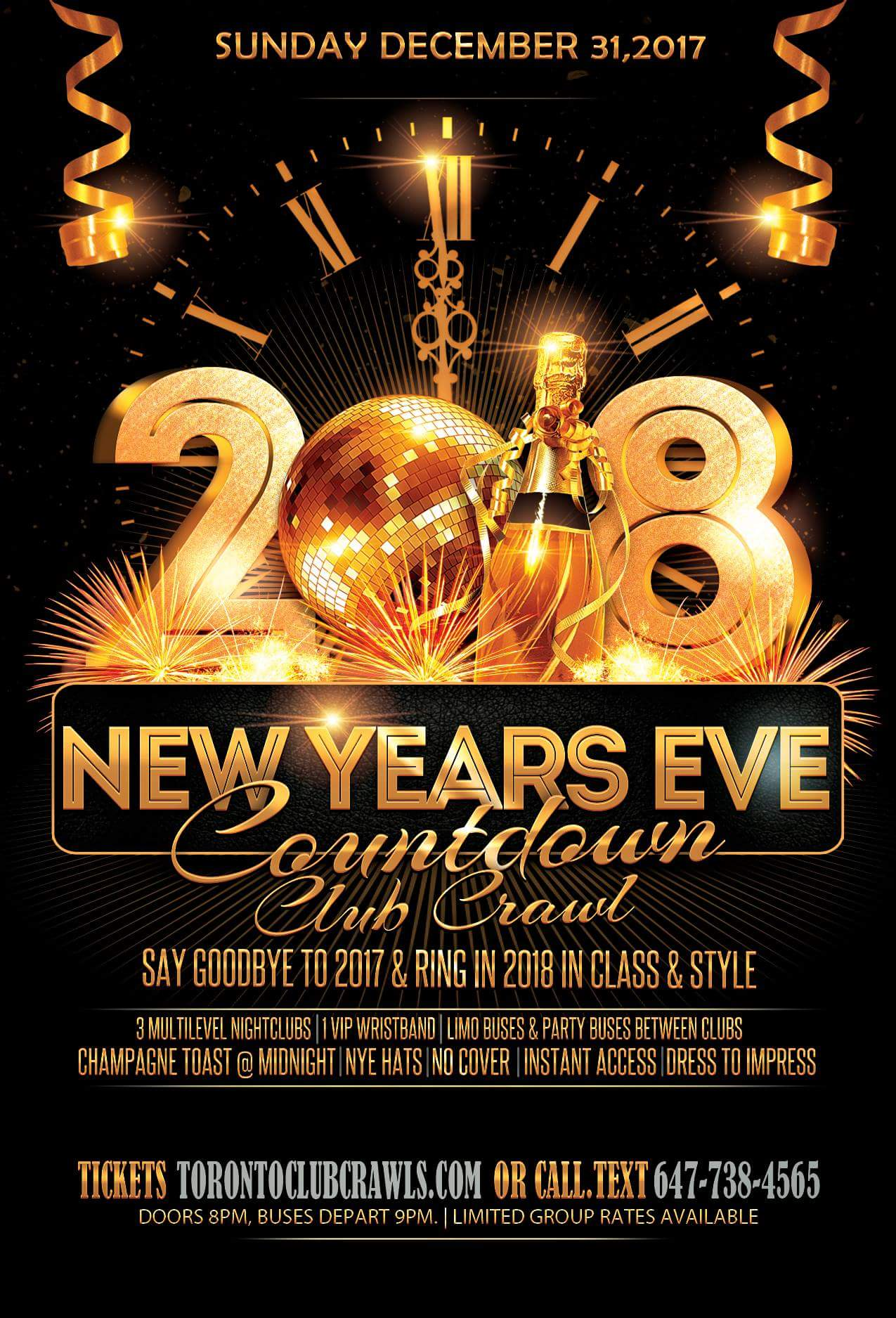 New Years Eve Event 2018